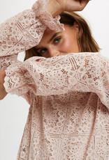 Cream Tiley Lace Blouse