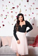 BB Dakota Romance Bodysuit in Black