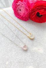 """Adorn Collection Jewelry Kiri Heart Necklace in Silver - 16""""+2"""" Extension"""