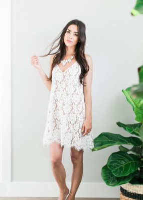 Space46 Gemma Lace Tank Dress *Two Colours*