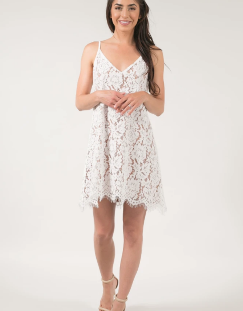 Space46 Gemma Lace Tank Dress