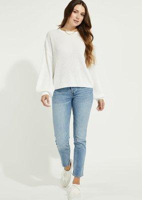 Gentle Fawn Fonda Sweater in White