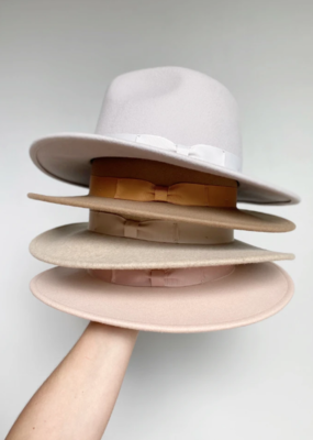 WEST VON West Von - Knox Fedora - Dove Grey