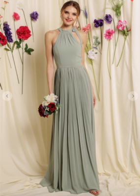 Soieblu Lana Maxi Dress - Dusty Sage