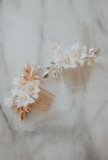 Luna & Stone Paloma Hair Comb (Gold)