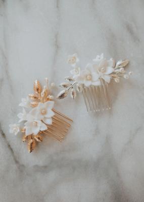 Luna & Stone Luna and Stone - Paloma Hair Comb (Gold)