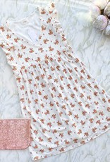 Everly Maci Floral Eyelet Baby Doll Dress