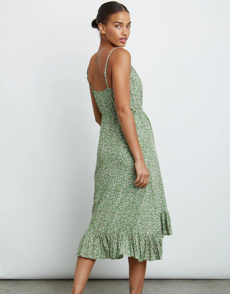 Rails Frida Tank Midi Dress in Juniper