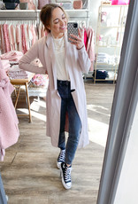 Soia and Kyo Annabella Long Cardigan in Pearl