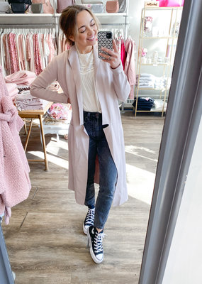 Soia and Kyo Soia & Kyo - Annabella Long Cardigan in Pearl
