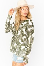 Show Me Your Mumu Woodsy Sweater in Palm