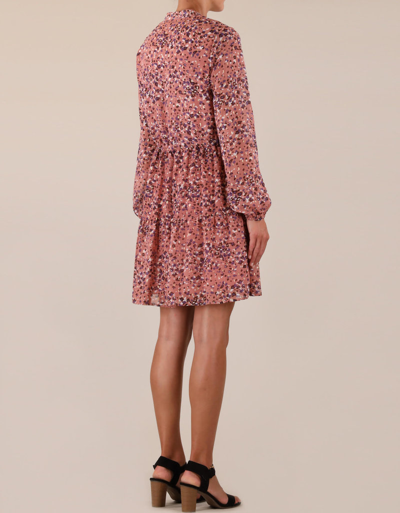 Rino and Pelle Aldona Dress in Rose Print