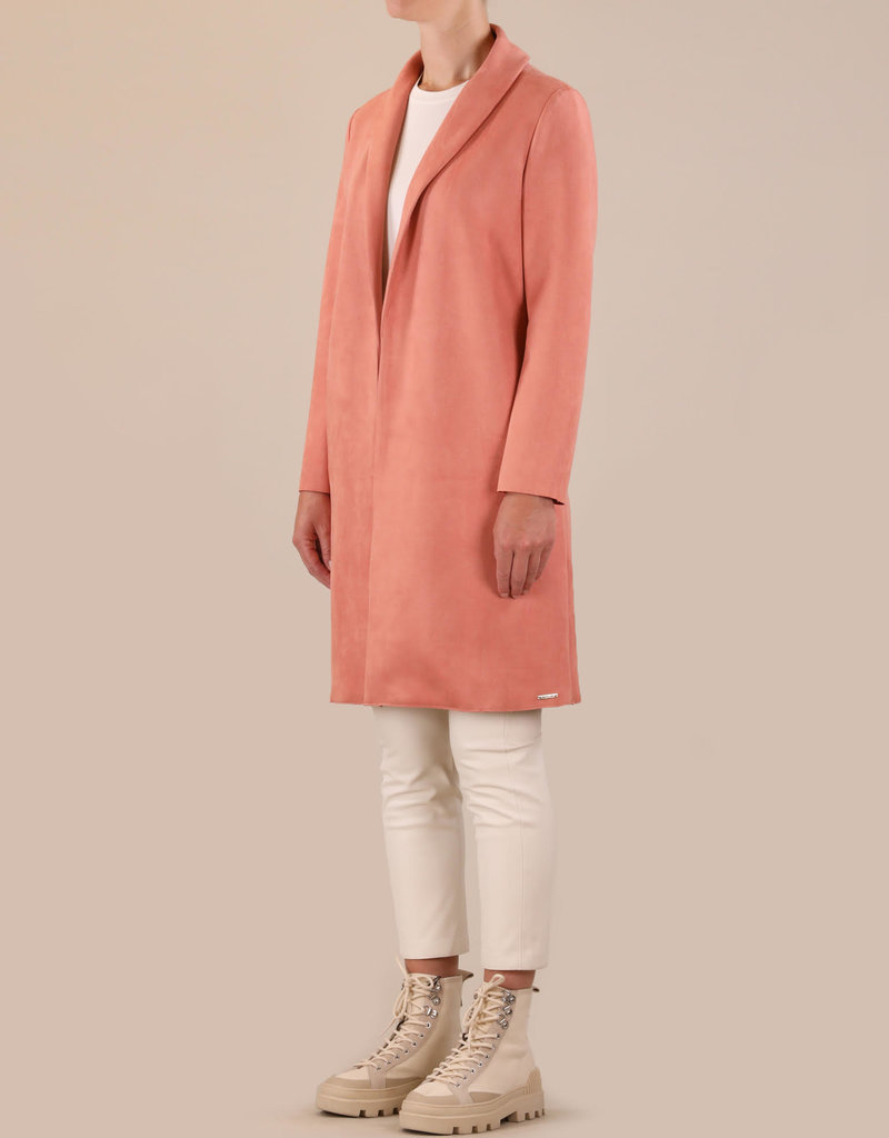 Rino and Pelle Mirola Faux Suede Coat
