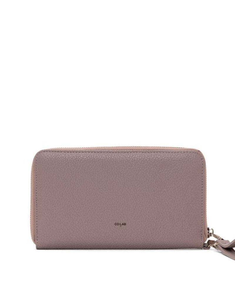 Colab Cathy Wristlet in Dusty Mauve