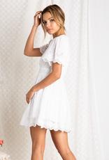 Baevely Ellia Mini Dress with Smocked Waist