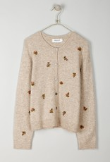 Indi and Cold Everly Embroidered Cardigan