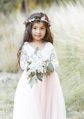 Ruffles & Bowties Veronica Flower Girl Dress *More Colours*