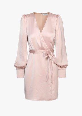 Adelyn Rae Abby Satin Mini Dress