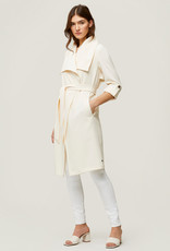 Soia and Kyo Ornella Light Coat in Off-White