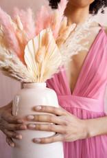 Luxxel Selena Tulle Maxi Dress - Rose
