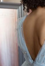 Soieblu Star Maxi Dress - Silver Blue