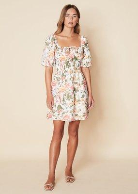 Faithfull Nikoleta Mini Dress - Teatro Floral Print