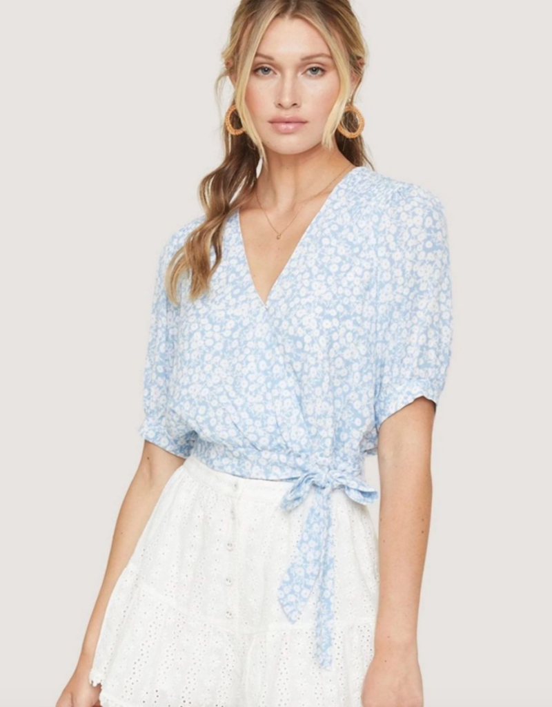 Lost and Wander Seaside Breeze Top