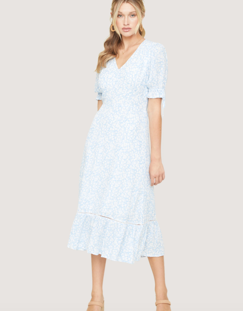 Lost and Wander Seaside Breeze Midi Dress