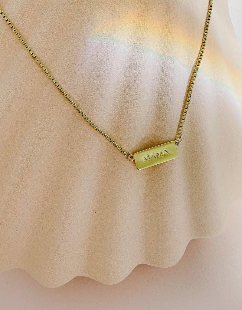 Sugar Blossom Mama Necklace