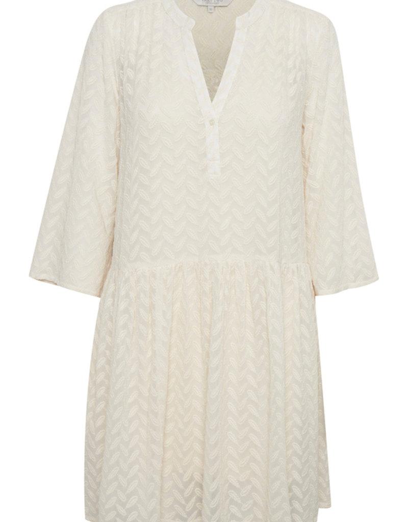 Part Two Sophia Dress in Whitecap Grey