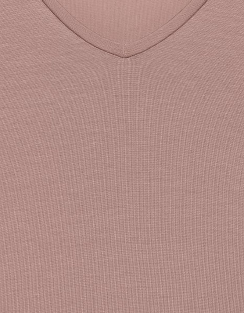 B.Young Rexima V-Neck Tee - Rose