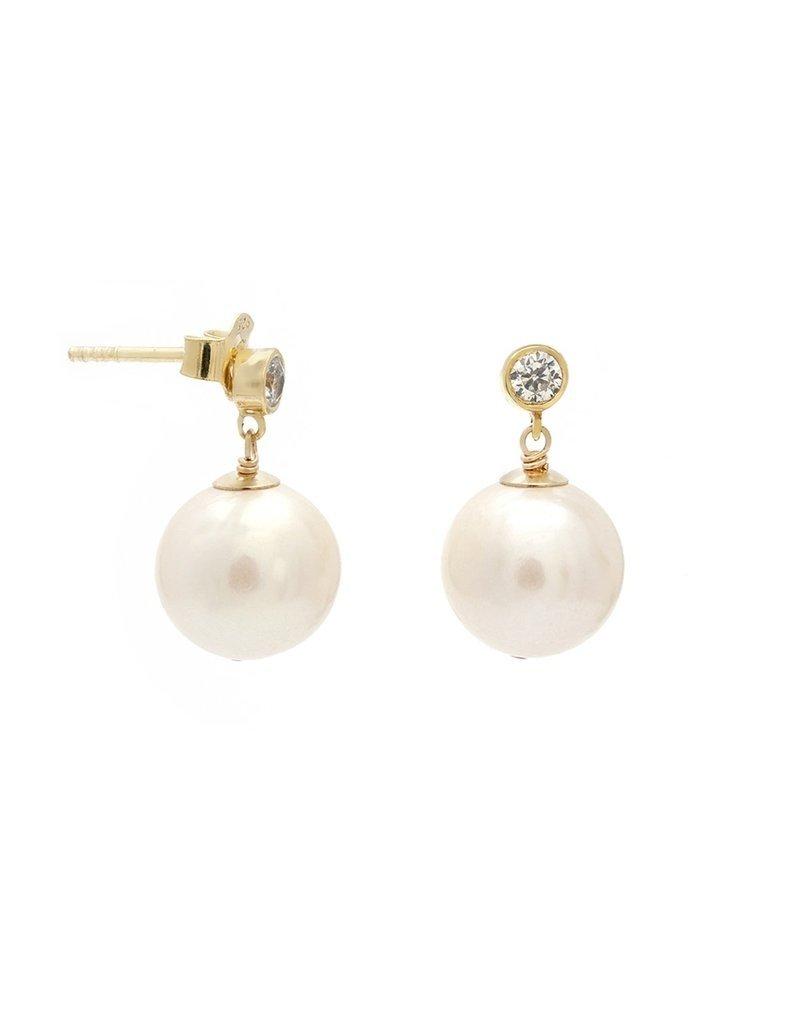 Leah Alexandra Pila Pearl Earrings