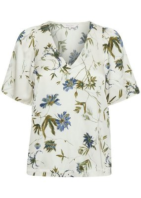 Part Two Irtha Blouse in Blue Floral