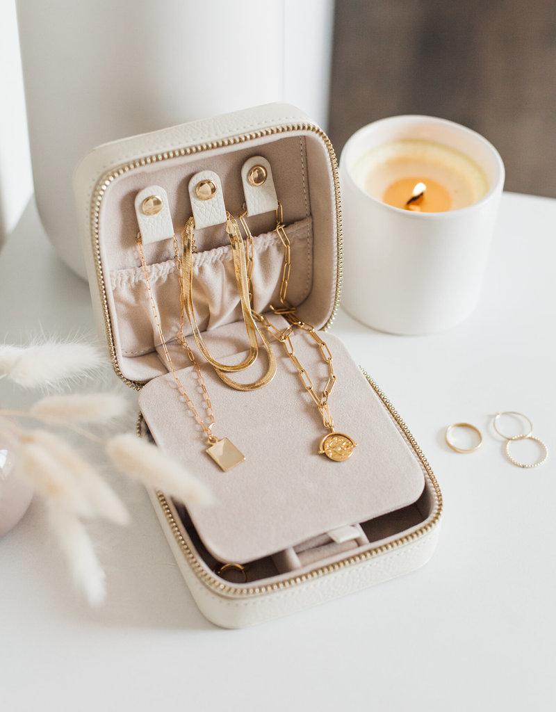 Lavender & Grace Jewelry Case - Black