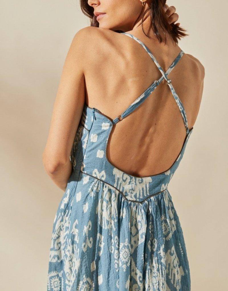 Louizon Sisteron Ikat Maxi Dress