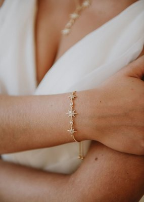 Luna & Stone Luna and Stone - Lyra Bracelet *Gold & Silver*
