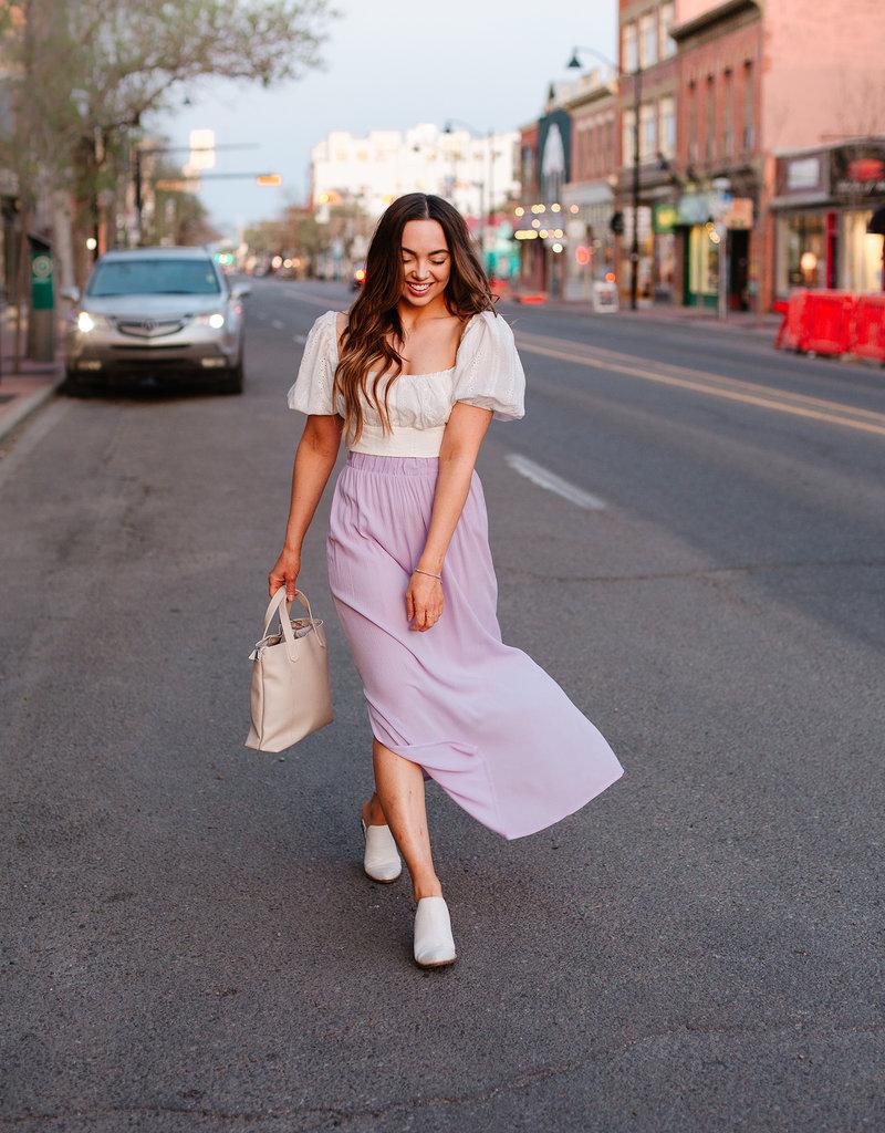 ICHI Marrakech Maxi Skirt