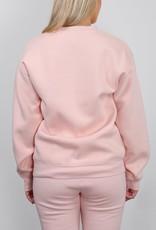 Brunette the Label Blonde Core Crew Sweatshirt - Peach Cream