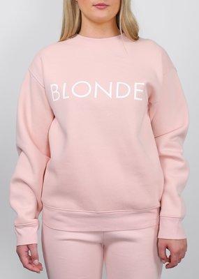 Brunette the Label Brunette the Label - Blonde Sweatshirt in Peach Cream