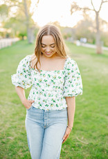 Faithfull Quincy Top - Floral