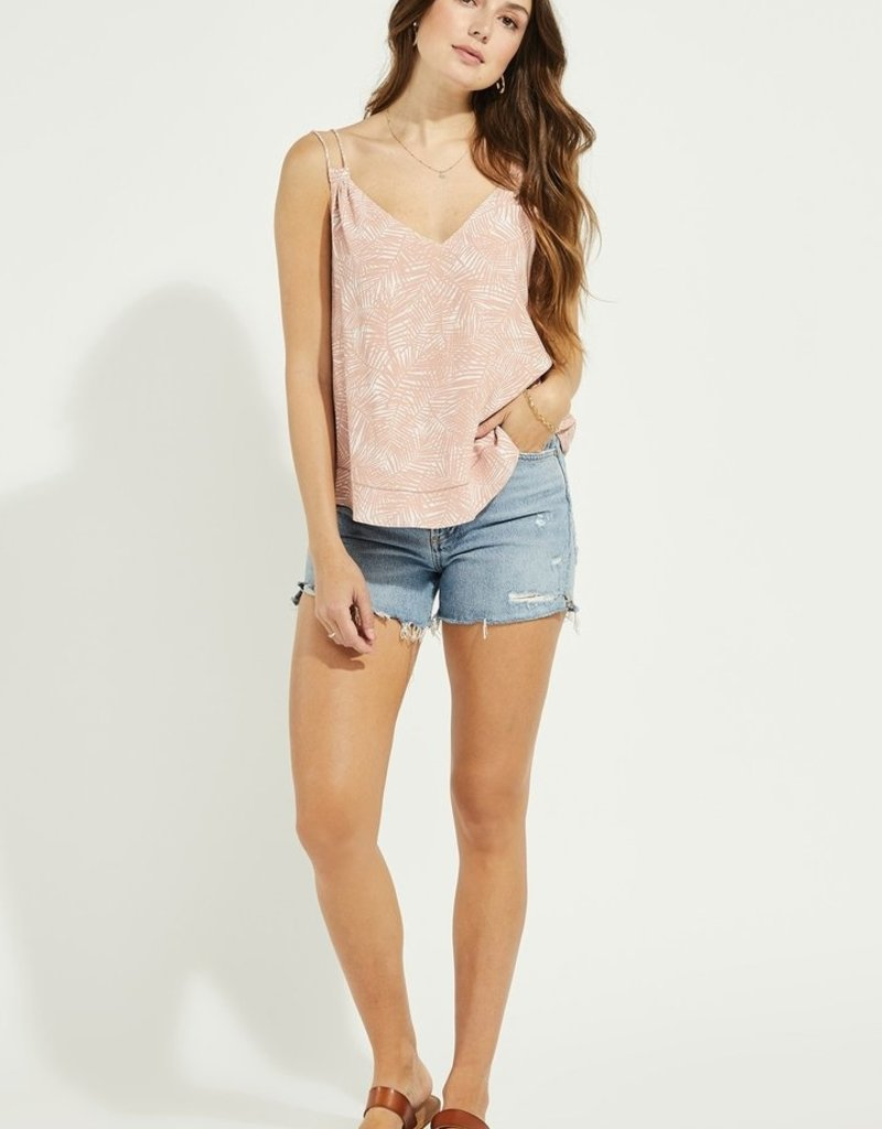 Gentle Fawn Riviera Tank in Pink Palm