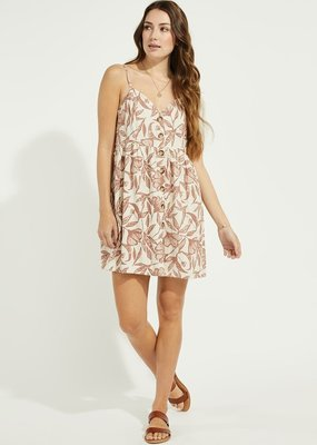 Gentle Fawn Palm Mini Dress *Two Colours*