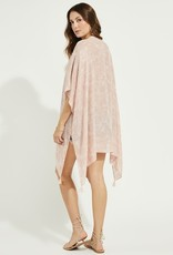 Gentle Fawn Ledger Cover-Up - Pink Palm
