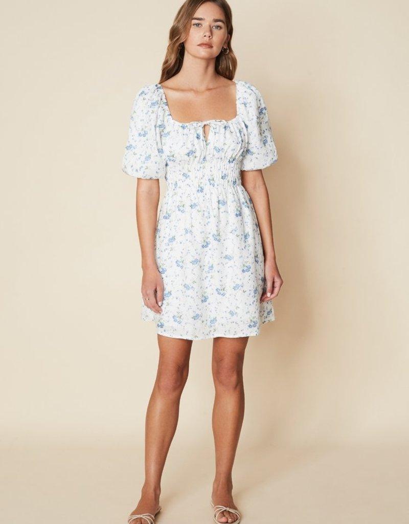 Faithfull Nikoleta Mini Dress - Astoria Floral Print
