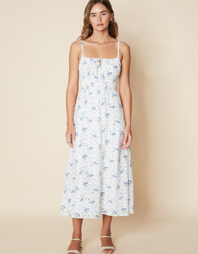 Faithfull Jasmina Midi Dress - Astoria Floral Print
