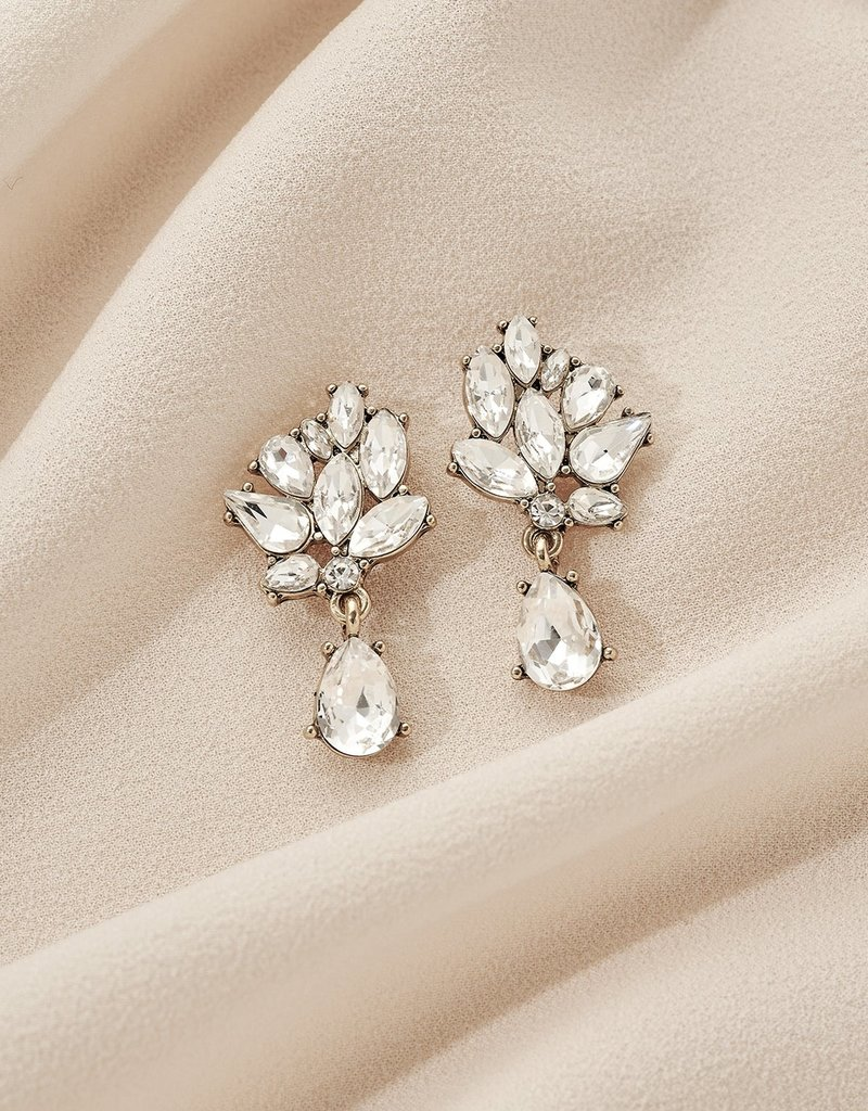 Olive & Piper Jasmine Drop Earring - Gold