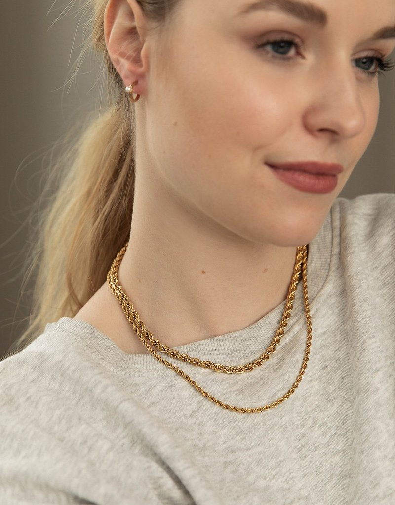 Olive & Piper Muse Chain Necklace - Gold