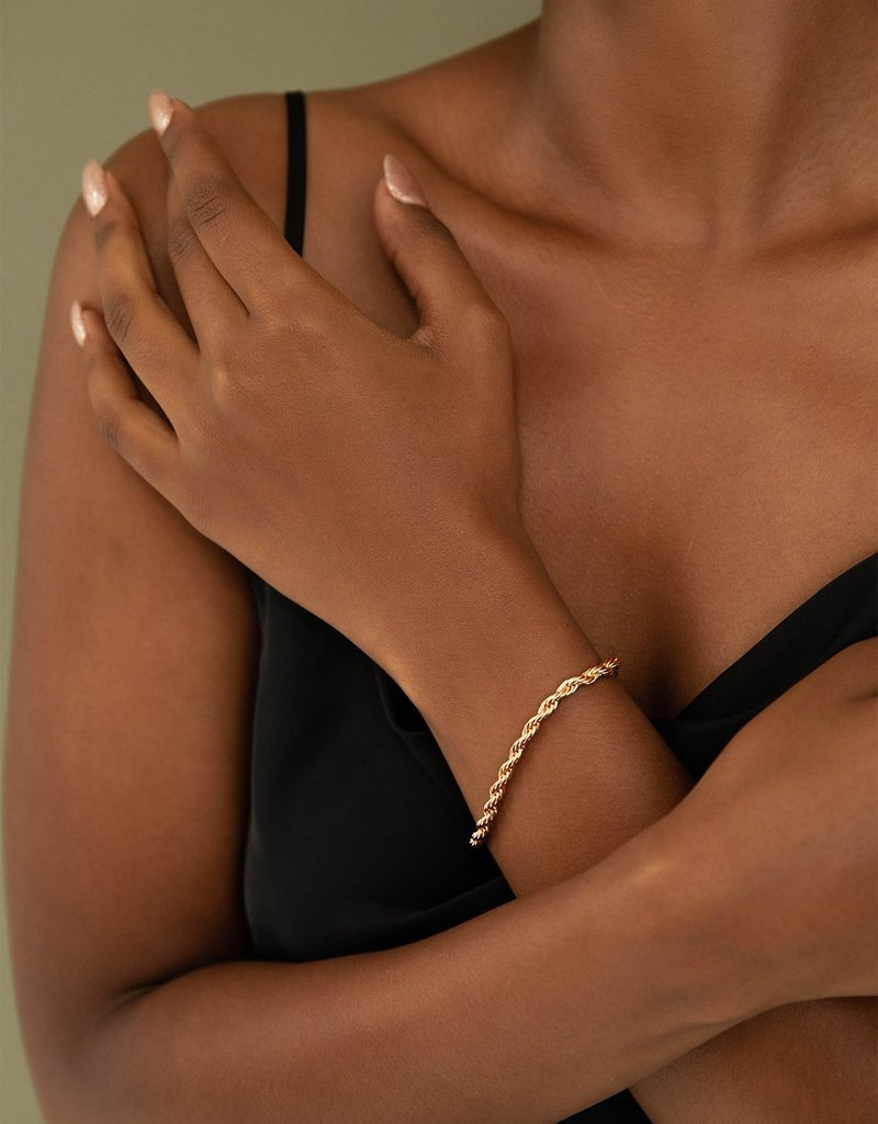 Olive & Piper Muse Chain Bracelet - Gold