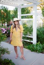 BB Dakota Floral Tradition Dress in Sunflower