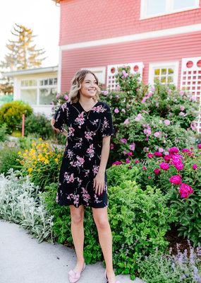 B.Young Joella Dress in Pink Floral